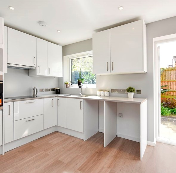 Kitchen at 7 Sunnymead Court, 46 Oxford Road