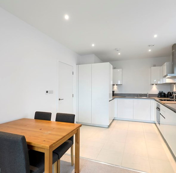 Dining/ kitchen at 64 Trafalgar House, Juniper Drive