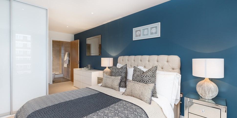 Bedroom at Brackenbury Square