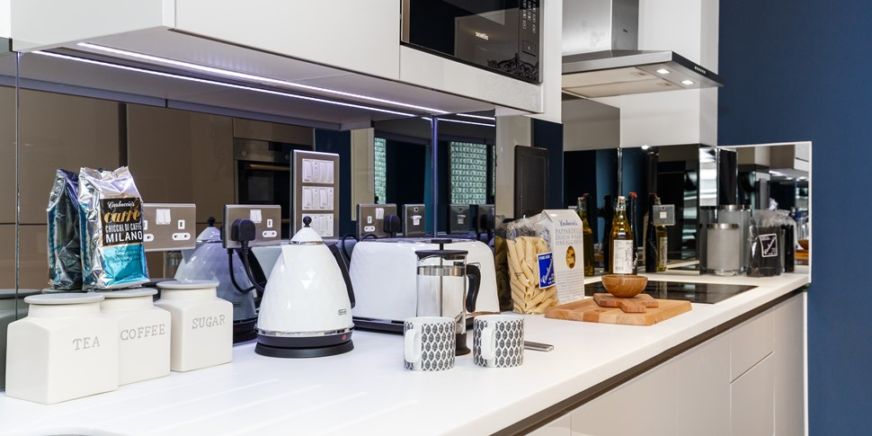 Kitchen at Brackenbury Square
