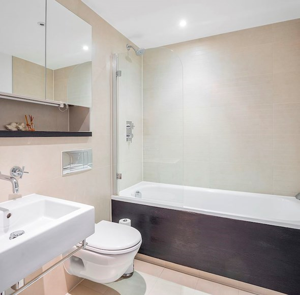 Bathroom at Flat 4, Orchid Court