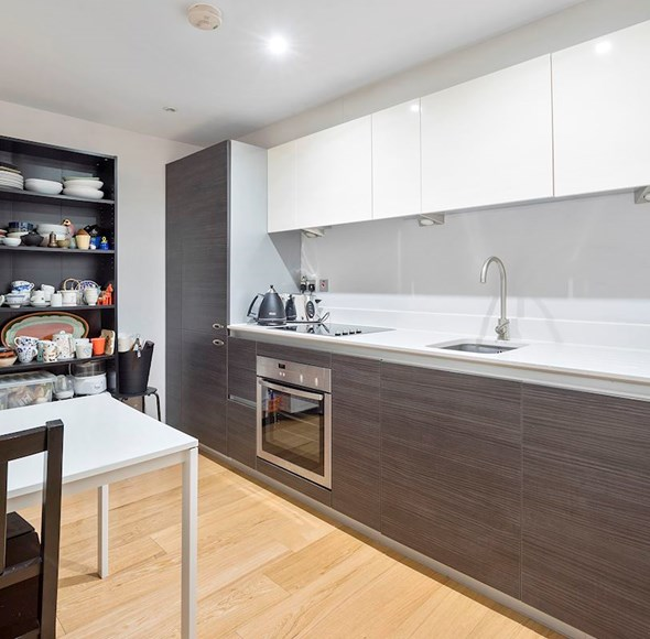 Kitchen at Flat 4, Orchid Court