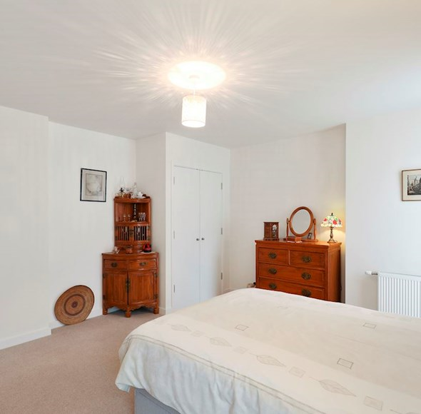 Bedroom at Flat 1, 4a Thornlaw Road