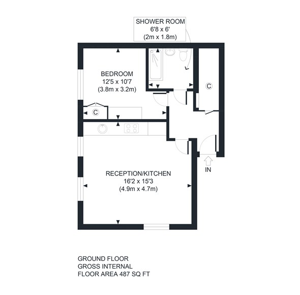 Floorplan at 5 Sunnymead Court