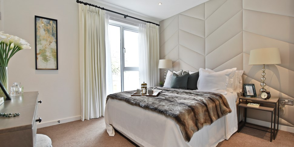 Bedroom at Reynard Mills Private Sale